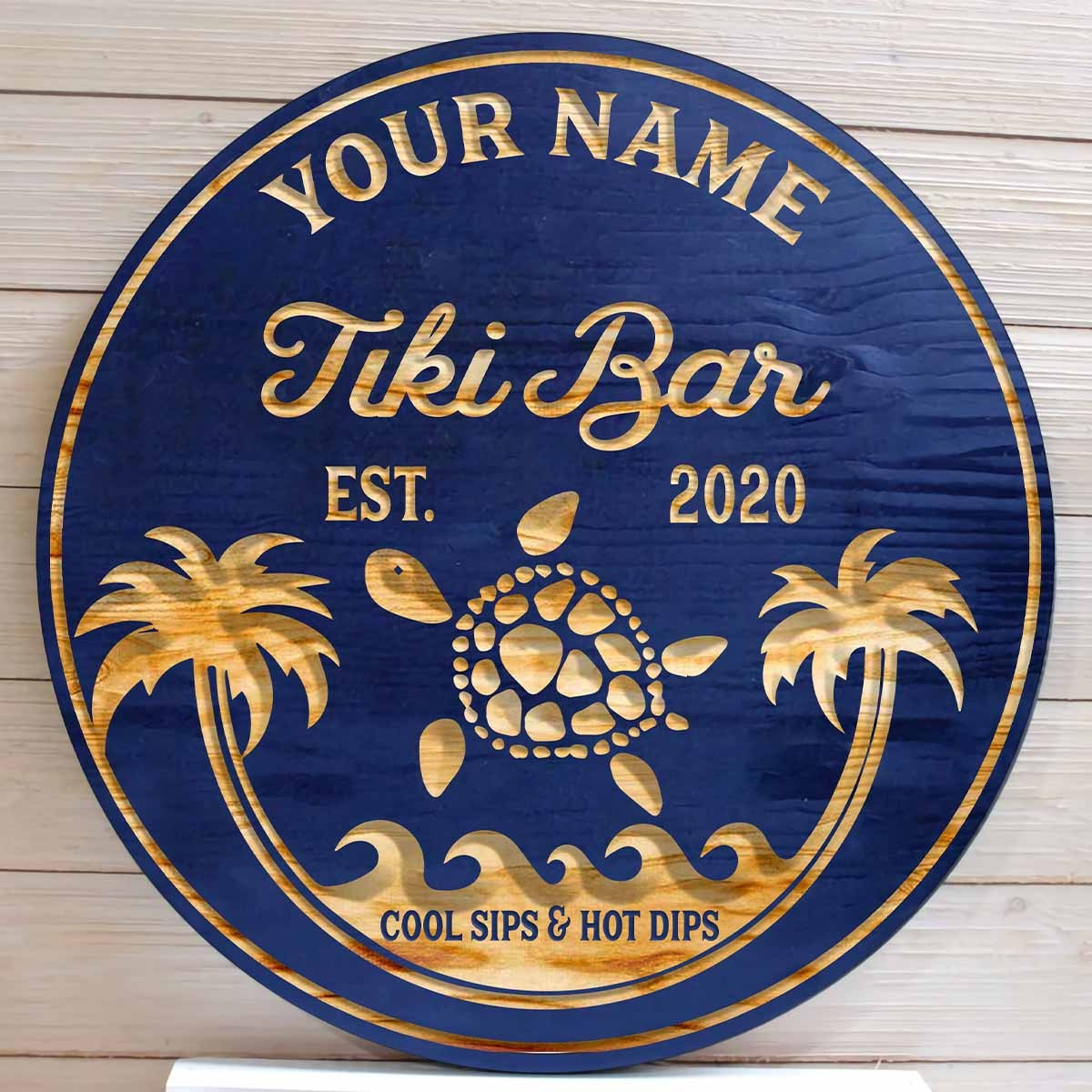 Bar Sign Pool Sign Custom Pool and Beach Sign with Drinks Beach Sign Fathers Day Beach House Sign Monogram Sign Beach Sign