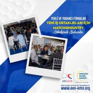 Yerli ve yabancı firmalar yeni iş ortaklıkları için Match4Industry etkinliğinde ikili iş görüşmelerinde bulundu