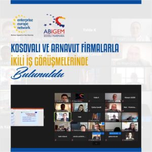 Türk firmalar Kosovalı ve Arnavut firmalarla ikili iş görüşmelerinde bulundu.