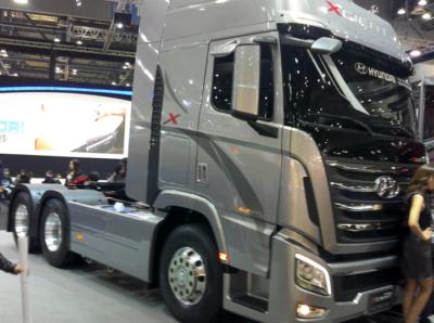 «Деловые Линии» тестируют новые грузовики Hyundai