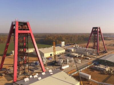 «Славкалий» завершил более 50% строительных работ на поверхностном комплексе Нежинского ГОК