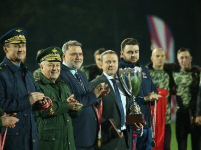 Команда ВИФК из Санкт-Петербурга выиграла Кубок Вооруженных Сил РФ по регби-7