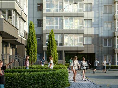 Новый жилой комплекс в центре Симферополя готов на 90%