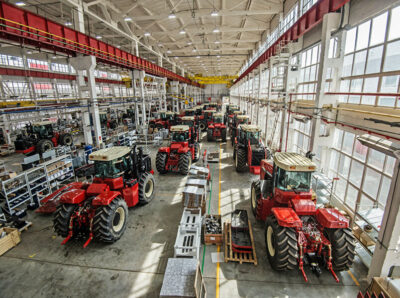 «Ростсельмаш» построит к 2023 году новый тракторный завод