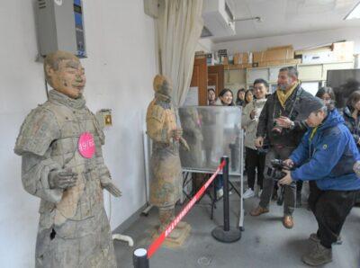В китайском Сиане побывали иностранные журналисты