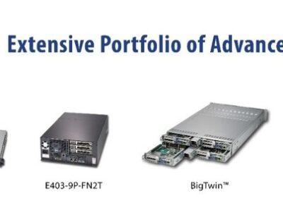 Supermicro анонсировала Edge-системы для открытых сетей радиодоступа 5G (RAN)
