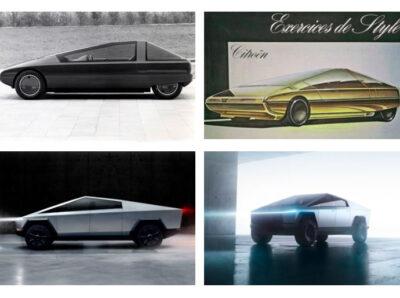 Citroën 1980 года и Cybertruck 2019 обладают определенными сходствами