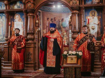 Губернатор Ульяновской области побывал на торжестве в честь юбилея Михайло-Архангельского монастыря