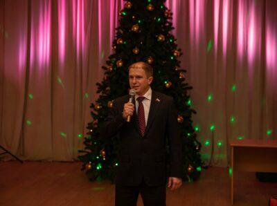 Поселок Понтонный во время новогодних каникул посетил Михаил Романов