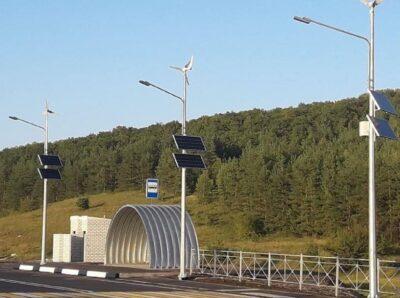 Эффективное и недорогое решение для освещения участков дорог от Sun Shines