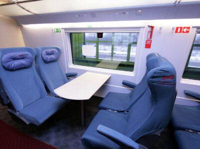 В бортовом меню высокоскоростных поездов «Сапсан» появятся в Великий пост специальные блюда