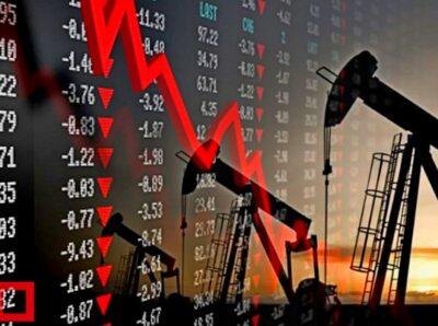 Цены на нефть обвалились до трехлетнего минимума