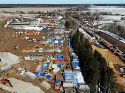 Компания «Моспромстрой-М» объявила об окончании строительства в поселении Вороновское больницы для борьбы с коронавирусом