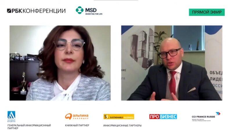 Президент АО «БРПИ» Агнесса Осипова приняла участие в Zoom Talk «КСО: курс на защиту детства»