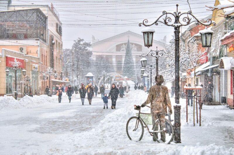 Новогодней столицей в России станет Калуга