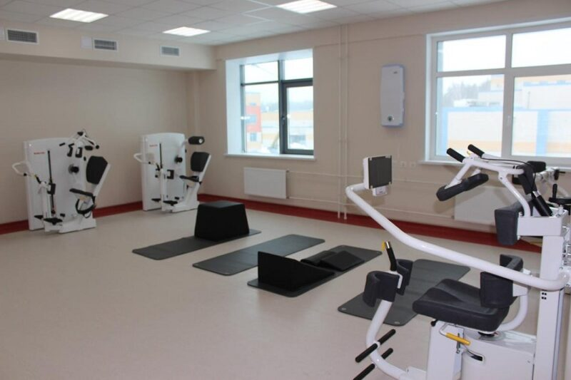 Корпус реабилитации открылся в Федеральном высокотехнологичном центре медицинской радиологии (ФМБА) России в Димитровграде