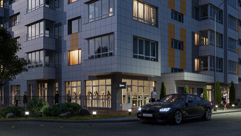 В Симферополе идут продажи квартир в новом доме комфорт-класса от ГК «ИнтерСтрой»