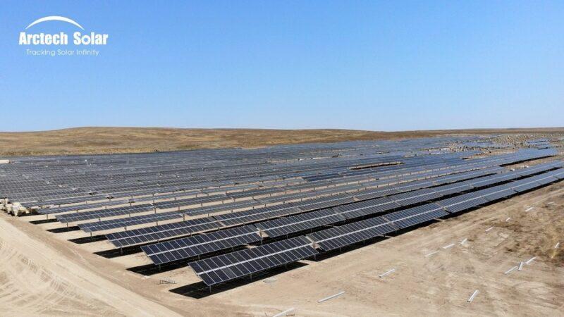 Поставщиком двухосных гелиотрекеров для объектов в Казахстане выбрана Arctech Solar