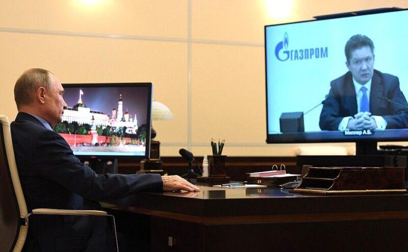 Глава «Газпрома» отчитался перед Путиным о планах компании на 2021 год
