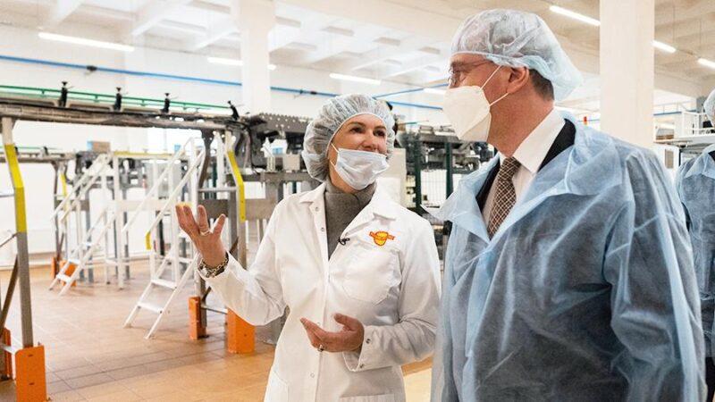 В Калужской области представили инновационную IT-платформу для пищевого производства