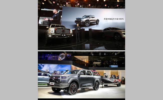 Полноразмерный пикап GWM признан лучшим внедорожником класса люкс на Автосалоне в Шанхае