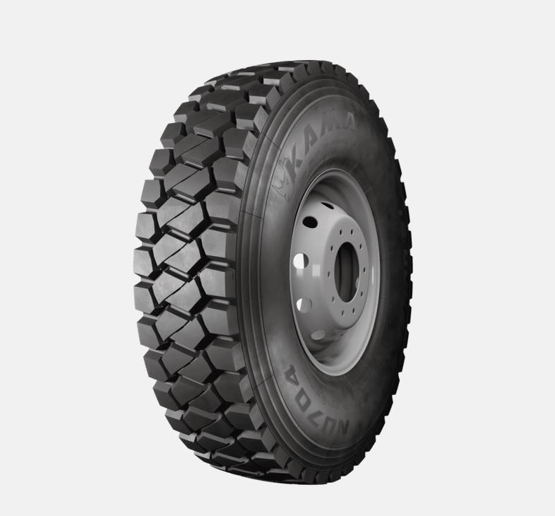 KAMA TYRES: для уверенной работы в карьере новые шины KAMA NU 704