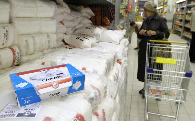 Минсельхоз выступил за ручное регулирование цен на сахар