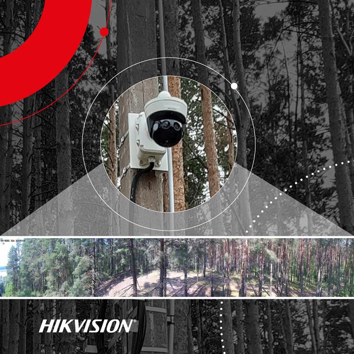 В национальном парке «Себежский» в Псковской области пожарную и общественную безопасность обеспечивает IT-видеосистема