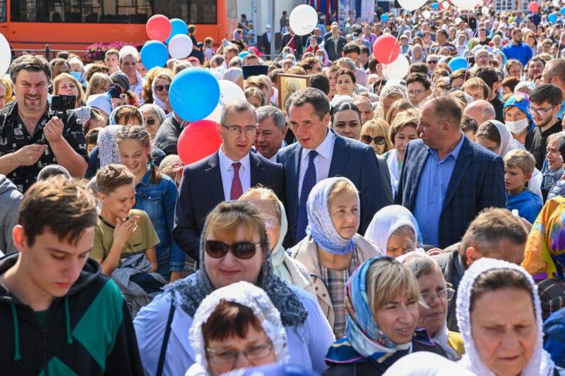 Владислав Шапша приветствовал жителей Калуги на праздновании 650-летия города