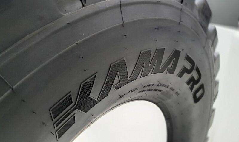 ЦМК шины KAMA PRO устойчивы к износу