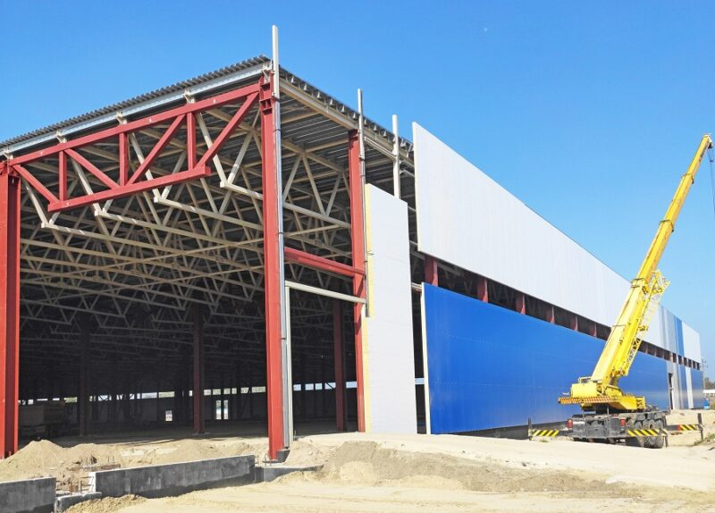 «ВЕНТАЛЛ» изготовил металлоконструкции для строительства корпуса цеха и сборки и логистики компании «Автотор»