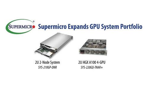 Supermicro расширяет ассортимент ГП за счет новых серверов