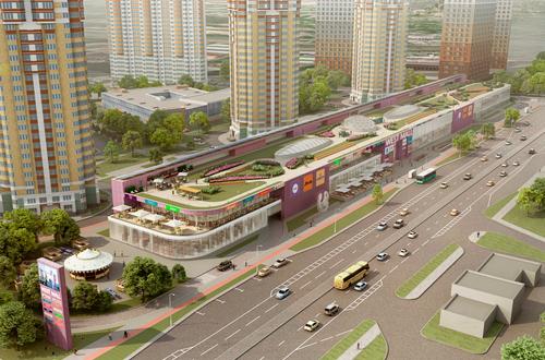 На западе Москвы начались работы по строительству МФК WEST MALL