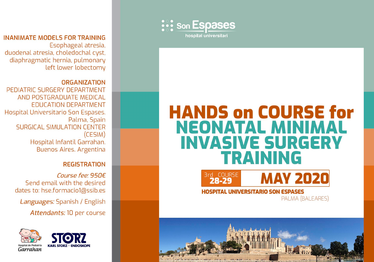 Hands on Course for Neonatal Minimal Invasive Training