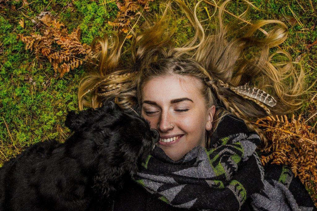 amor entre o Homem e os cães