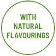 With natural flavourings