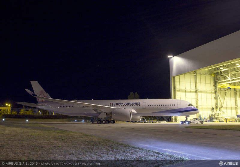 China Airlines alignera quatre Airbus A350 XWB en 2016