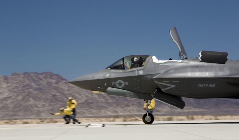 Débuts d'Odin sur le F-35