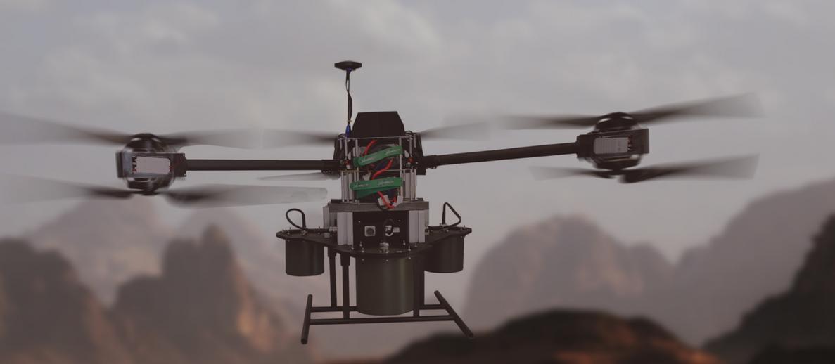 MC2 Technologies met au point un drone brouilleur