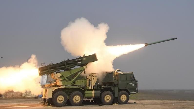 L'Inde a testé des lance-roquettes améliorés