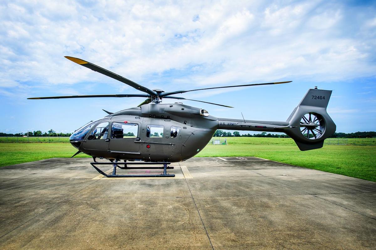 Airbus Helicopters Inc. livre son premier UH-72B à la garde nationale américaine