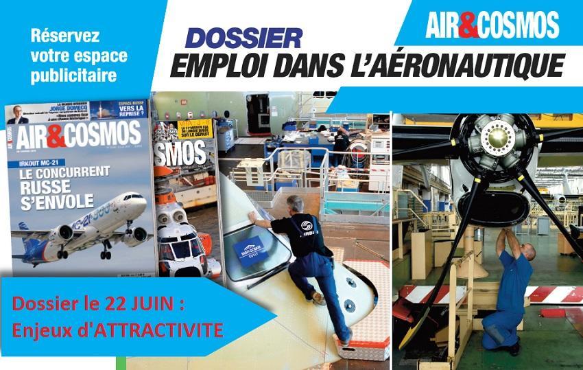 Attractivité des employeurs : nouveau dossier Emploi à paraître dans Air&Cosmos le 22 juin.