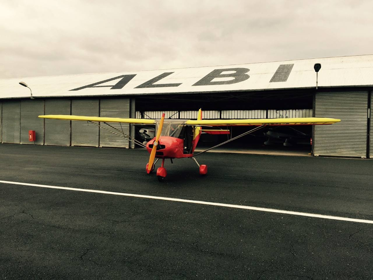 Gagnez un ULM avec l'aéroclub d'Albi
