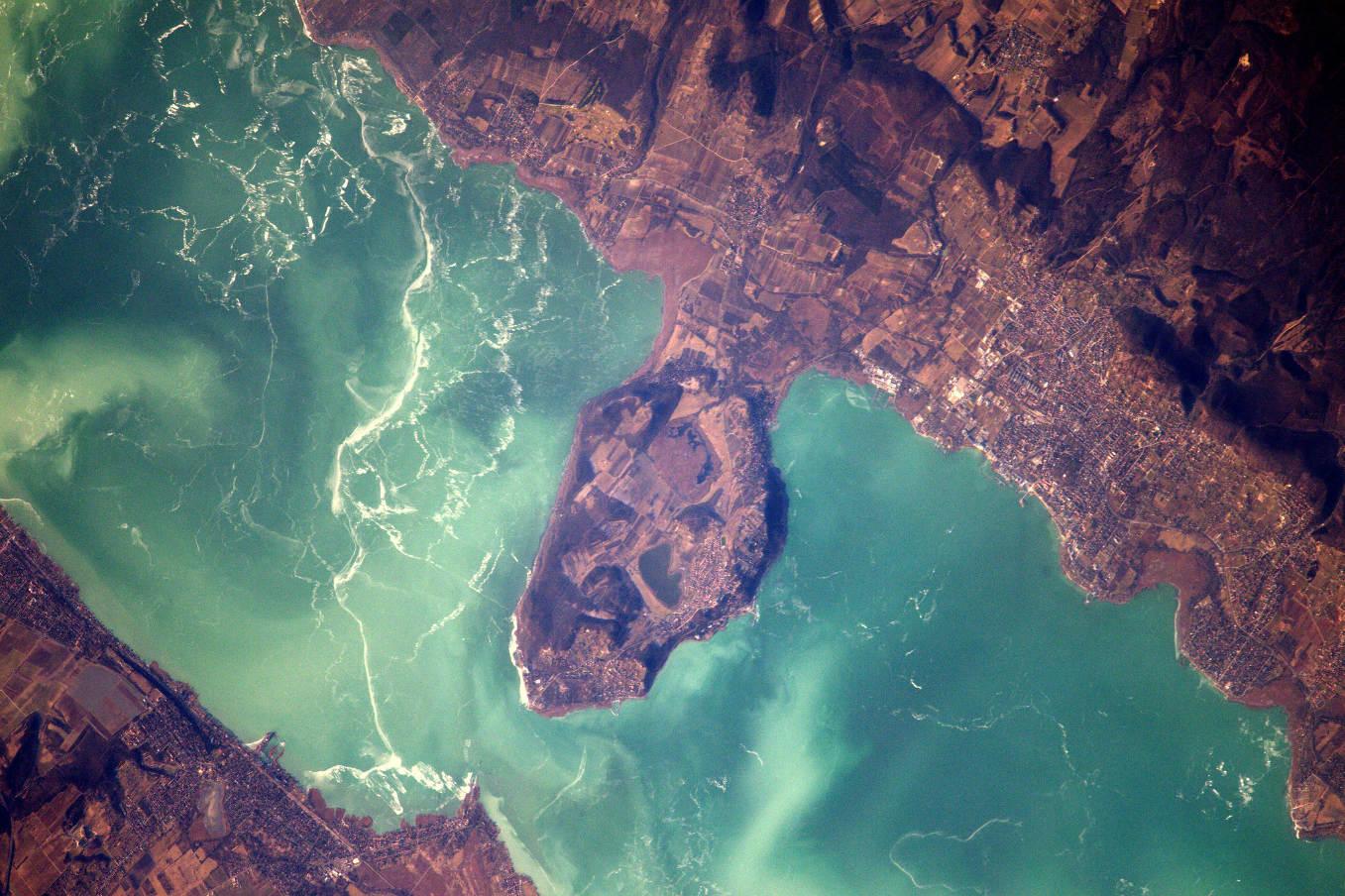 La Terre dans l'oeil de Thomas Pesquet #69 : la presqu'île de Tihany