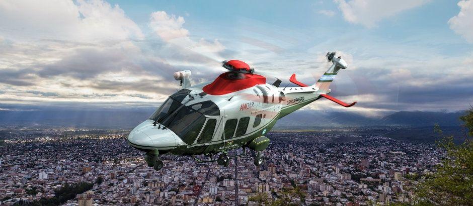 Argentine : un Leonardo AW169 pour la gendarmerie