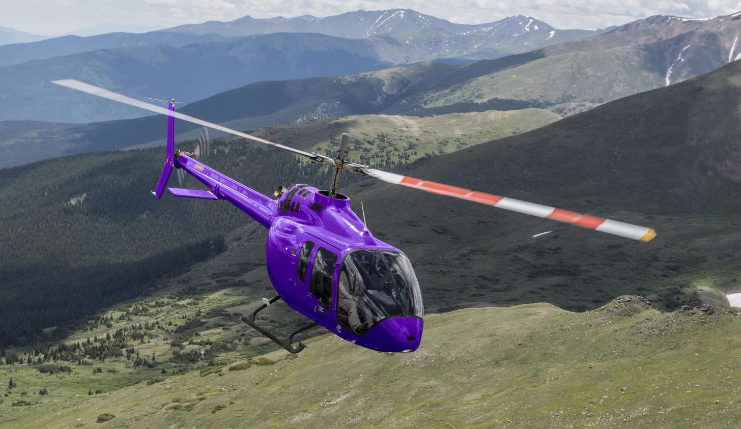 Bell Helicopter livre ses trois premiers Bell 505 en Chine