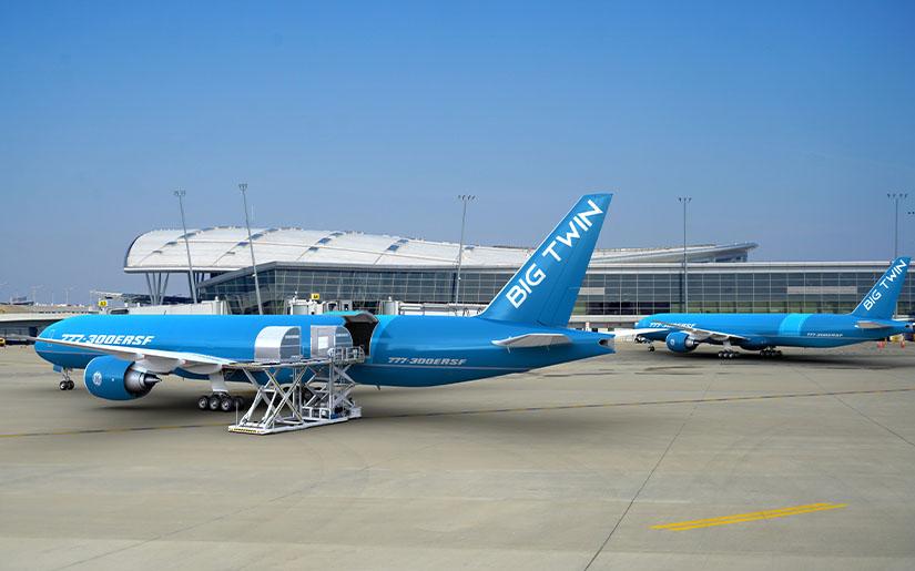 Boeing 777-300ERSF : Etihad Engineering monte sur le programme