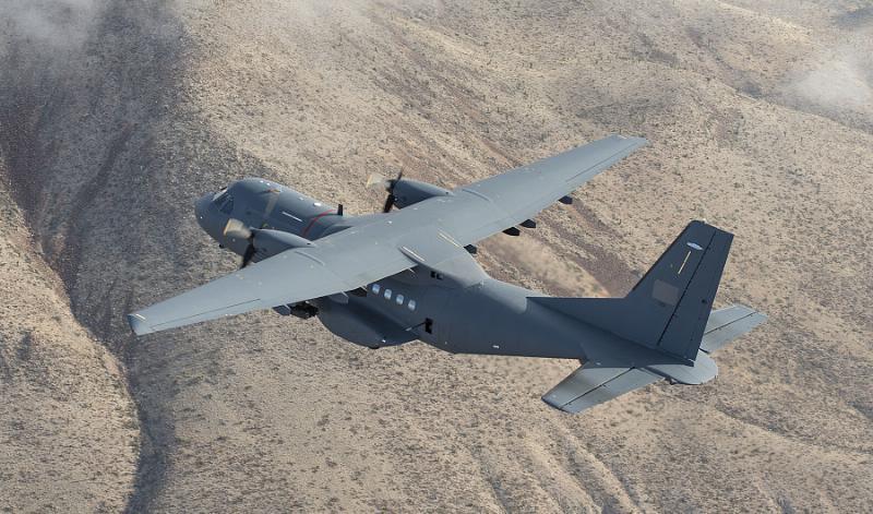 """ATK livre le premier AC-235 """"gunship"""" à la Jordanie"""
