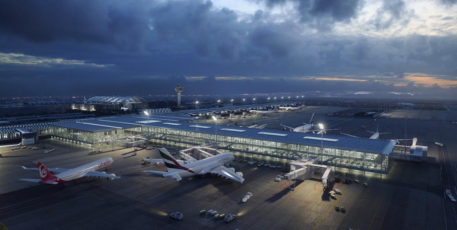 L'aéroport de Munich pousse les murs