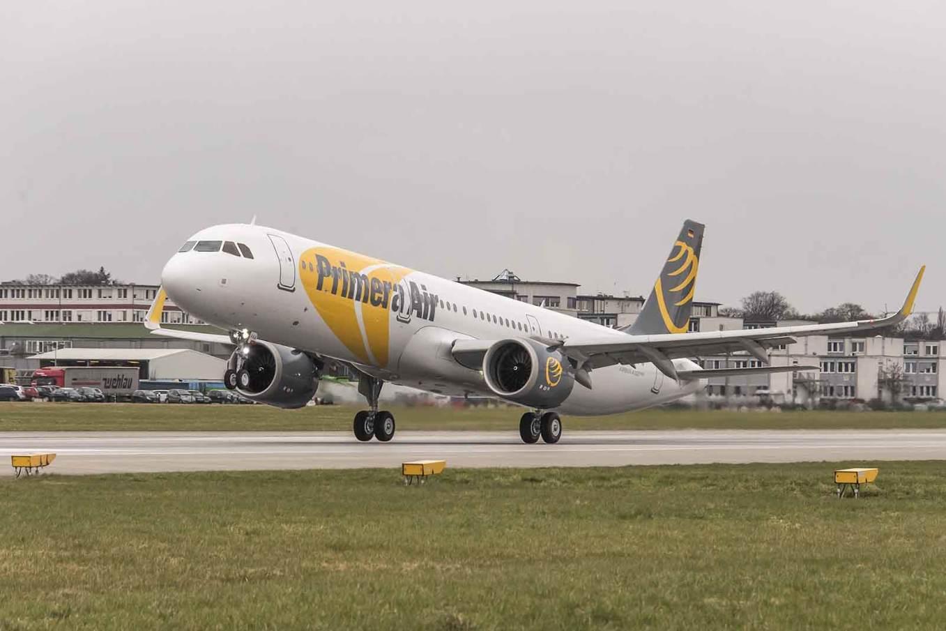 Primera Air attend sept autres Airbus A321neo